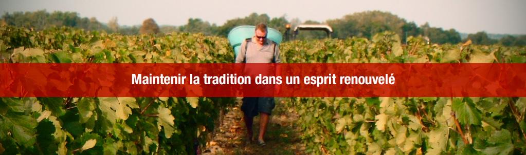 Maintenir la tradition dans un esprit renouvelé