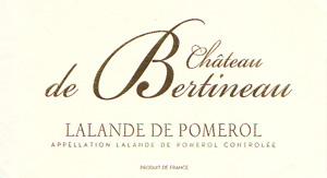 Château de Bertineau - Lalande de Pomerol