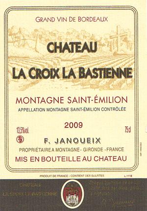 Château La Croix La Bastienne - Montagne Saint-Émilion