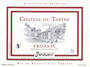 Château du Tertre - Fronsac