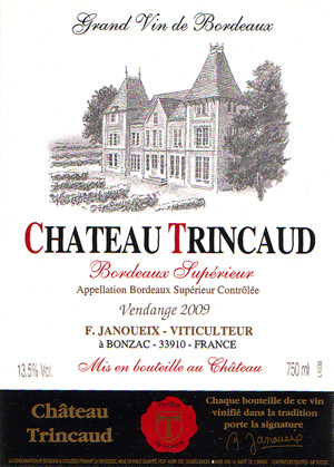 Château Trincaud - Bordeaux Supérieur